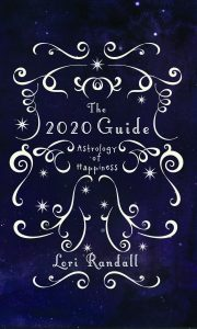 book cover to the 2020 guide astrology of happiness